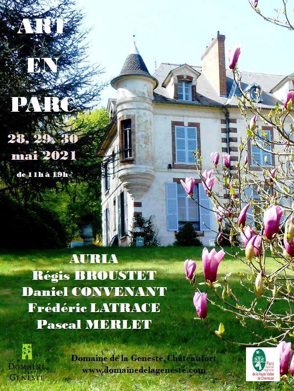 Frédéric Latrace au Salon Art en Parc - Édition 2021 au Domaine de La Geneste