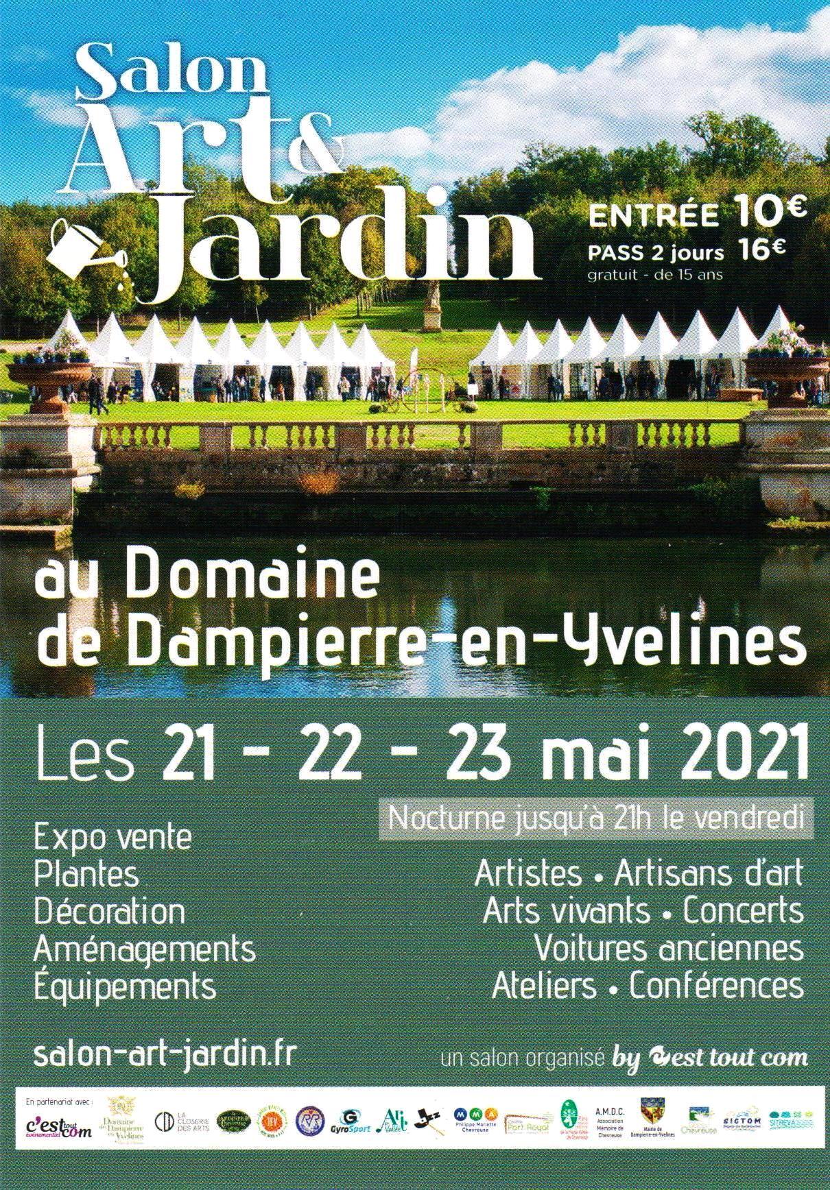 Présence de Frédéric Latrace au Salon Art & Jardin - Édition 2021