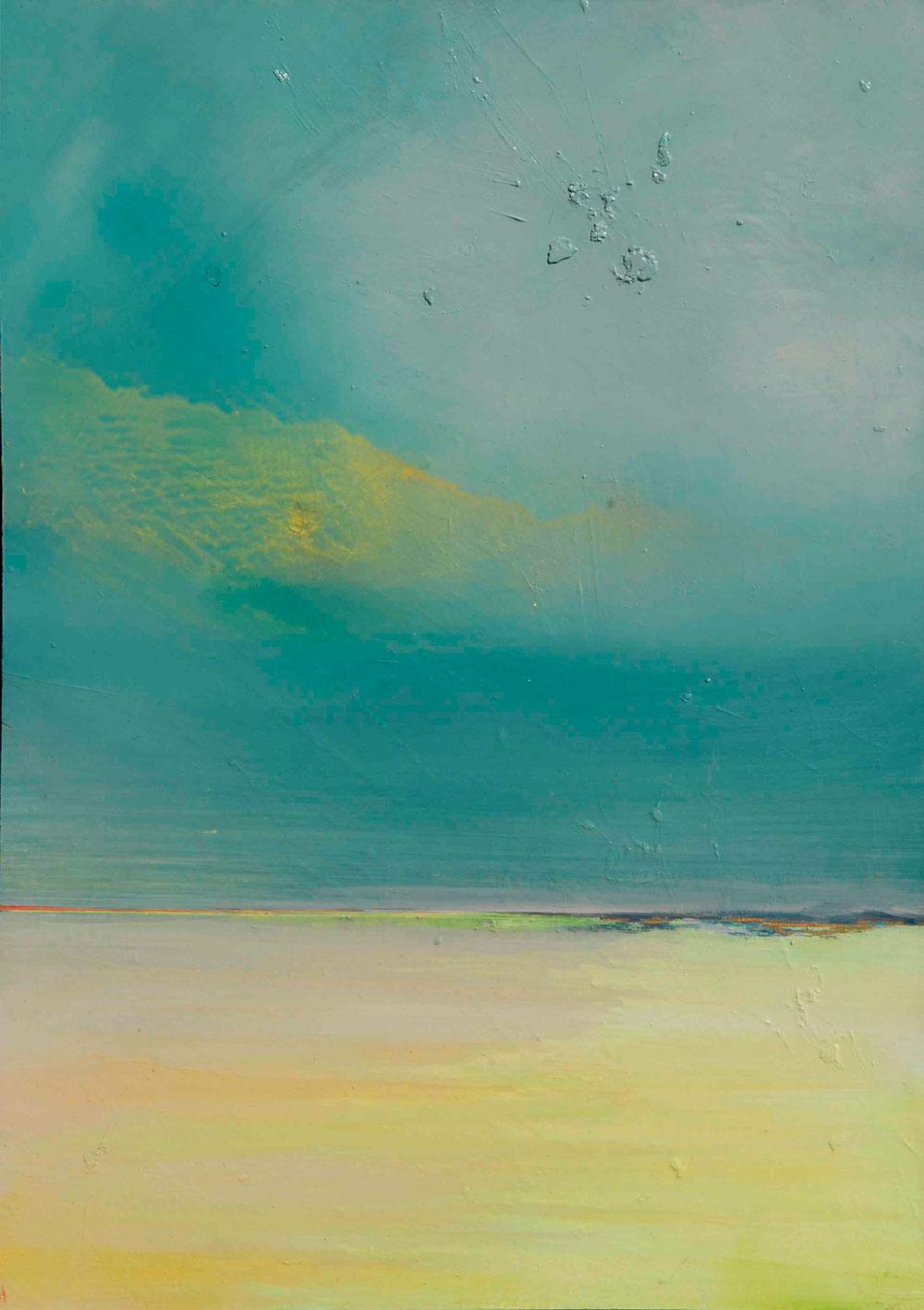 ILHA-GRANDE au BRÉSIL - Huile sur Panneau Marouflé de 65x46cm - Peintre Frédéric Latrace