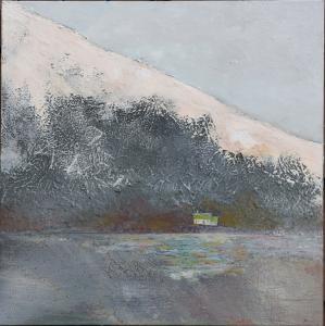 Islande - Huile sur toile - 60x60