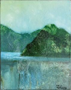 Ecosse Bowmore - Huile sur toile - 5F - 35x27